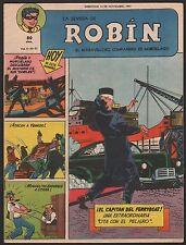 LA REVISTA DE ROBIN # 51 1951 - RARE Argentine Printed COMIC (Robin and Batman)