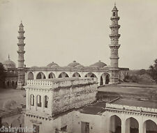 Shah Ahum's Mosque Ahmedabad India 1908, Reprint Photo 6x5 inch