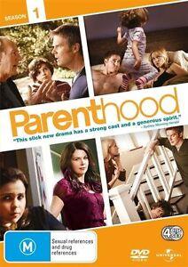 Parenthood : Season 1 (DVD,4-Disc Set) Region 4 Very Good Condition