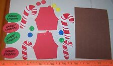 Lot of Over 25 Foam Shapes Christmas Build A Candy Shop