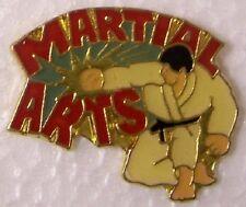 Hat Lapel Pin sports Martial Arts NEW