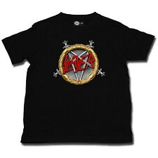 SLAYER  Pentagram - Kinder Kid Shirt Toddler - Größe Size 92 104 116 128 140 152