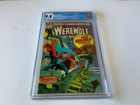 WEREWOLF BY NIGHT 15 CGC 9.4 TOMB OF DRACULA NEW ORIGIN MARVEL COMICS 1974