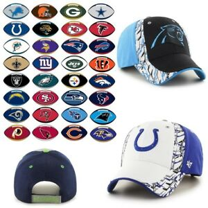 Officially Licensed NFL Sidecut MVP Structured Cap by '47 482689-J