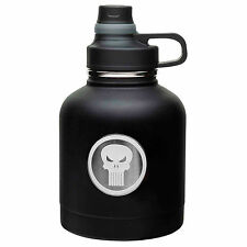 MKPD-R320 Marvel Comics The Punisher 32oz THERMAL Stainless Growler Jug Bottle