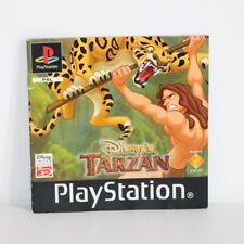 INSTRUCTION MANUAL FOR PS1 PSONE DISNEY TARZAN GAME