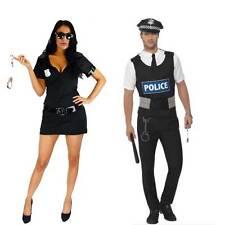 Halloween  Woman Costume Sexy Police Cop Uniform Fancy Dress