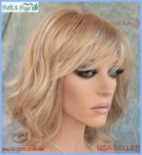 Stop Traffic Raquel Welch Wig  Mono Crown R1621s+ Glazed Sand