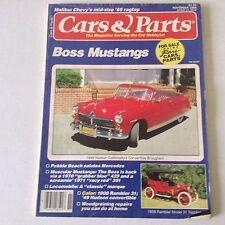 Cars & Parts Magazine Boss Mustangs Rambler Model 31 November 1986 052617nonrh3