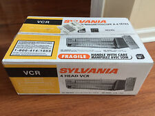 NNEW Sylvania 6240VF VCR VHS Player 4 head HI-FI stereo Video cassette Recorder