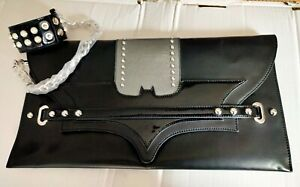 Braccialini *DARK BAG* Batman Catwoman 'The Dark Knight Rises' 2012 INTROVABILE!