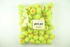 *NEU*60er Pro's Pro Stage 2 Tennisbälle Methodik Bälle gelb Kids Junior Kinder