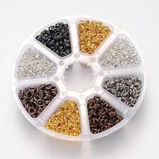 Jump Rings Split Rings 6mm Large Lot 1600pcs Wholesale Jewelry Supplies BULK