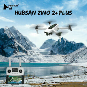 Hubsan Zino 2+ Plus 9KM Wifi FPV RC Drone 4K Camera 3-Axis Gimbal+2Battery+Bag