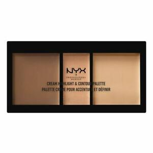 NYX Cream Highlight & Contour Palette CHCP02 MEDIUM NEW! FREE SHIPPING!