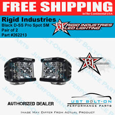 Rigid Industries Black Housing D-SS Pro Spot SM - Pair of 2 - #262213