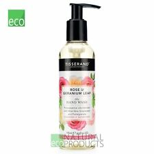 Tisserand Natural Vegan Rose & Geranium Leaf Hand Wash 195ml