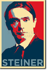 Rudolf steiner art photo imprimé (obama hope) poster cadeau rudolph education school