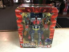 2008 Transformers Revenge of the Fallen OPTIMUS PRIME Leader Class Works MIB