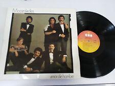 """MOCEDADES AMOR DE HOMBRE LP 12"""" VINILO VINYL 1982 G+/VG SPAIN EDITION"""