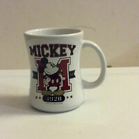 Mickey Mouse 1928 Top of the Class Disney Store Exclusive Retired Coffee Mug Cup
