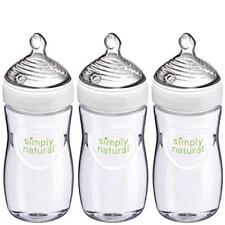 Baby Feeding Nuk Simply Natural Bottle 9 Ounce 3 Pack Soft Bpa Free Comfort New