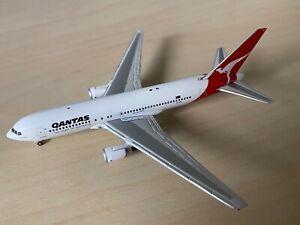 RARE 1:400 Gemini Jets Qantas 767-200ER GJQFA634 1990s livery VH-EAL