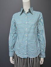 PAUL SMITH 100 % cotton top / shirt / blouse  NEW size 44  lines