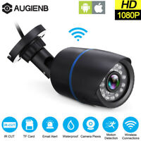 AUG Security Wirelled IP Audio Camera HD IR 1080P ODR Onvif APP TF  gift☆
