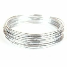 Creacraft Beading Style Wire - Aluminium Wire with Structured Surface (Wave
