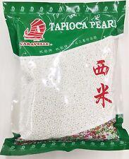 14oz Caravelle Tapioca Pearl Small White