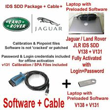 Kit de diagnóstico de Jaguar Land Rover IDS SDD está 130 +138 + Cable + Laptop trato