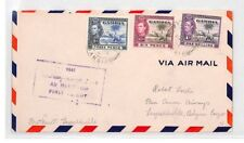 BL250 1941 Gambia Air Mail Cover Belgian Congo {samwells} PTS