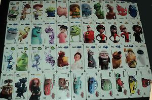 Disney Pixar Dominoes Woolworths  Full Set of 44 ..! ...