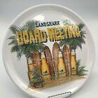 "Landshark Beer ""Board Meeting"" 14"" Round Melamine Serving Platter/Tray. Tropical"