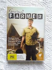 GOURMET FARMER – DVD, 2-DISC SET, REGION-ALL, LIKE NEW, FREE POST IN AUSTRALIA