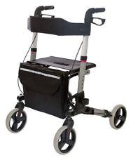 Alu Rollator Laufhilfe Gehhilfe Gehwagen leicht&klappbar mit Tasche Rollator NEU