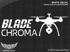 Blade Chroma Window or Case Decal Sticker Quadcopter UAV Camera Drone Yuneec