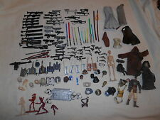STAR WARS Huge Lot Weapons Accessories for Action Figures