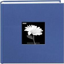 Pioneer Photo Albums Da200Cbf-Skb Fabric Frame Album 4X6 2-Up Sky Blue