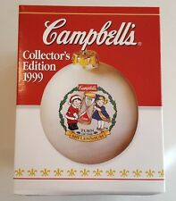 Campbells Soup 1999 CAMPBELL KIDS Turn of the Millennium Christmas Ball Ornament