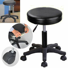Adjustable Tattoo Salon Stool Hydraulic Rolling Barber Chair Facial Massage Spa