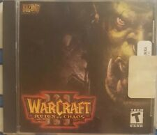 WARCRAFT III 3 REIGN OF CHAOS PC GAME CDROM CD-ROM RARE PLAY WITH KEY CODE DISC