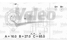VALEO Alternador CITROEN XSARA BERLINGO ZX XANTIA PEUGEOT 306 PARTNER 405 436336