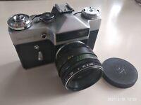 Vintage Film Camera ZENIT E Russian Retro Shoot Camera 35 mm