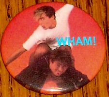 WHAM BUTTON         George Michael  ROCK & ROLL!