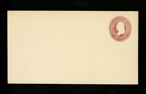 US Postal Stationery U277 Mint Envelope Entire 2c Brown on White Washington