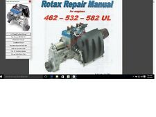 Rotax Service overhaul service manual 582 ultralight aircraft engine 462 532