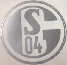 Aufkleber + Auto + FC SCHALKE 04 + Silber + NEU + Kratzfest + Waschanlagensicher