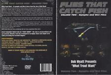 Flies That Catch Fish Volume 2 - Nymphs and Wet Files What Trout Want Dvd New